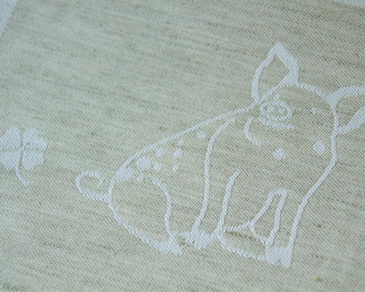 GT Halbleinen beige Schwein