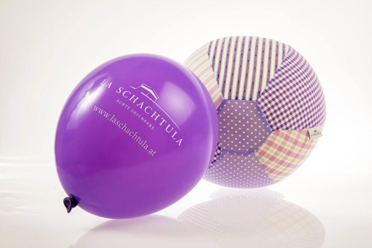 Luftballon lila