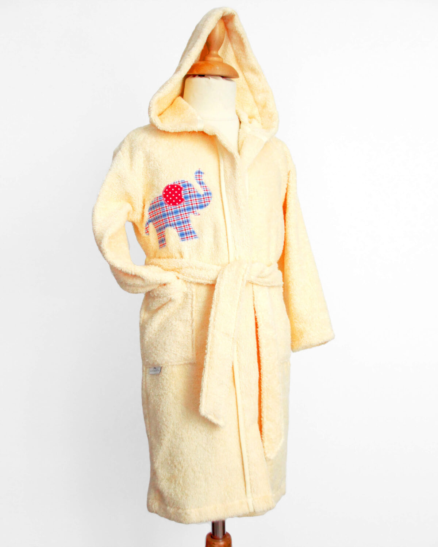 BM gelb mit blauem Elefant