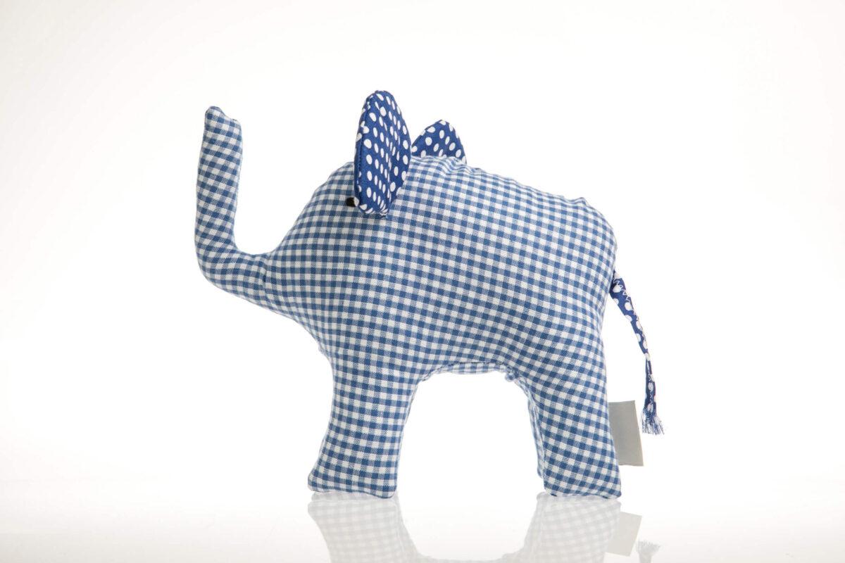 Elefant blau