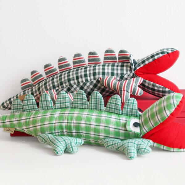 Krokodile mit Schachtel